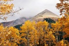 Mountain Peak in Autumn